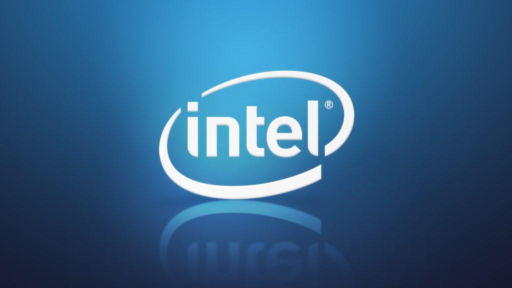 Intel Logo Azul