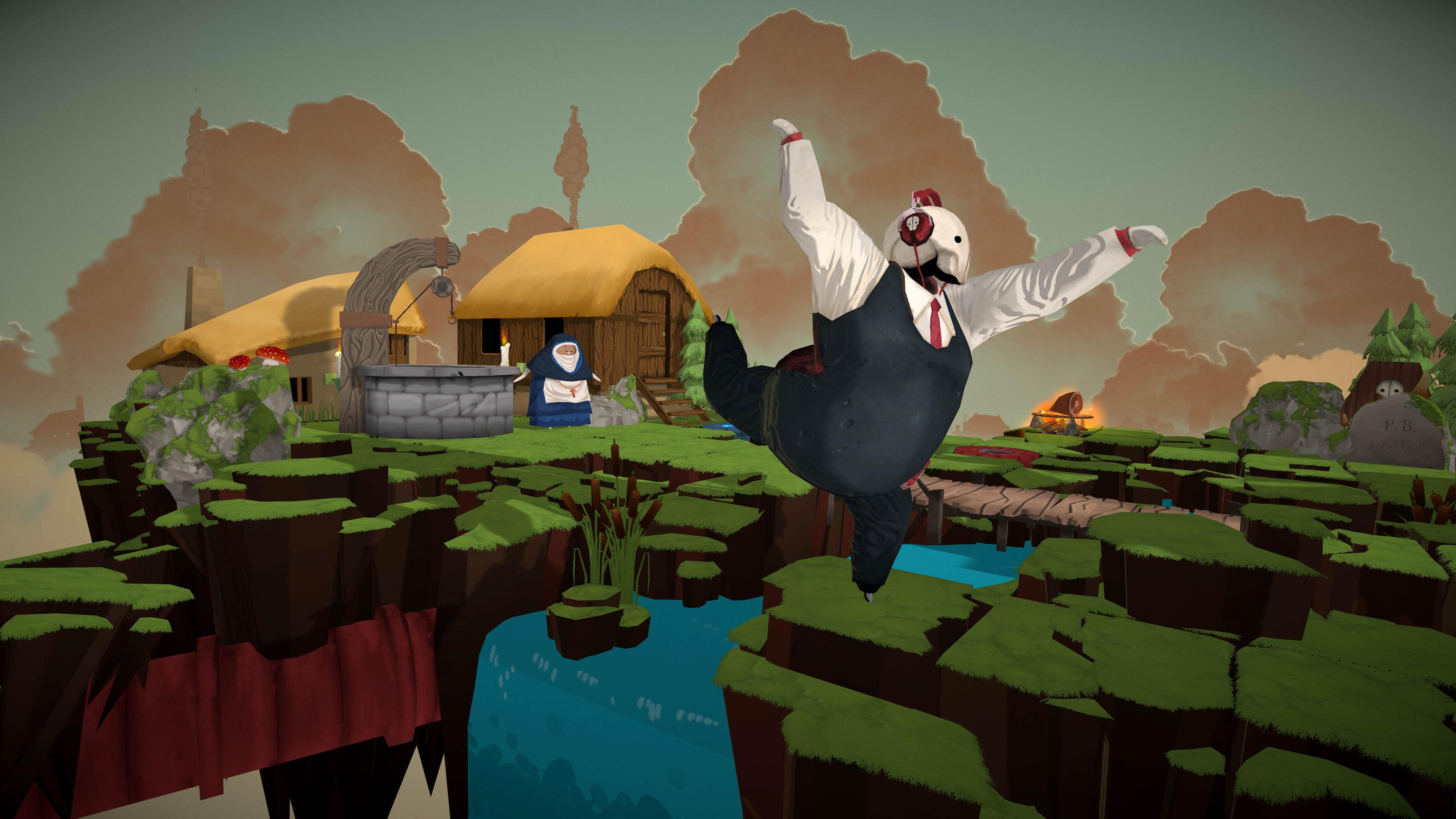 Aventura de quebra-cabeças e danças Felix The Reaper está disponível
