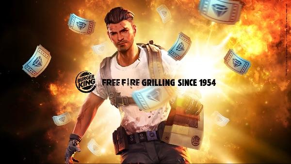 Burger King® e Free Fire incendeiam o mundo dos games com parceria inédita