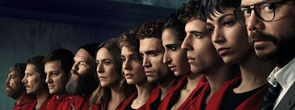 """Netflix trará os elencos de """"La Casa de Papel"""" e """"Esquadrão 6"""" à CCXP19"""