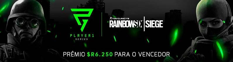 Rainbow Six Siege será uma das modalidades da primeira edição do Player1 Series
