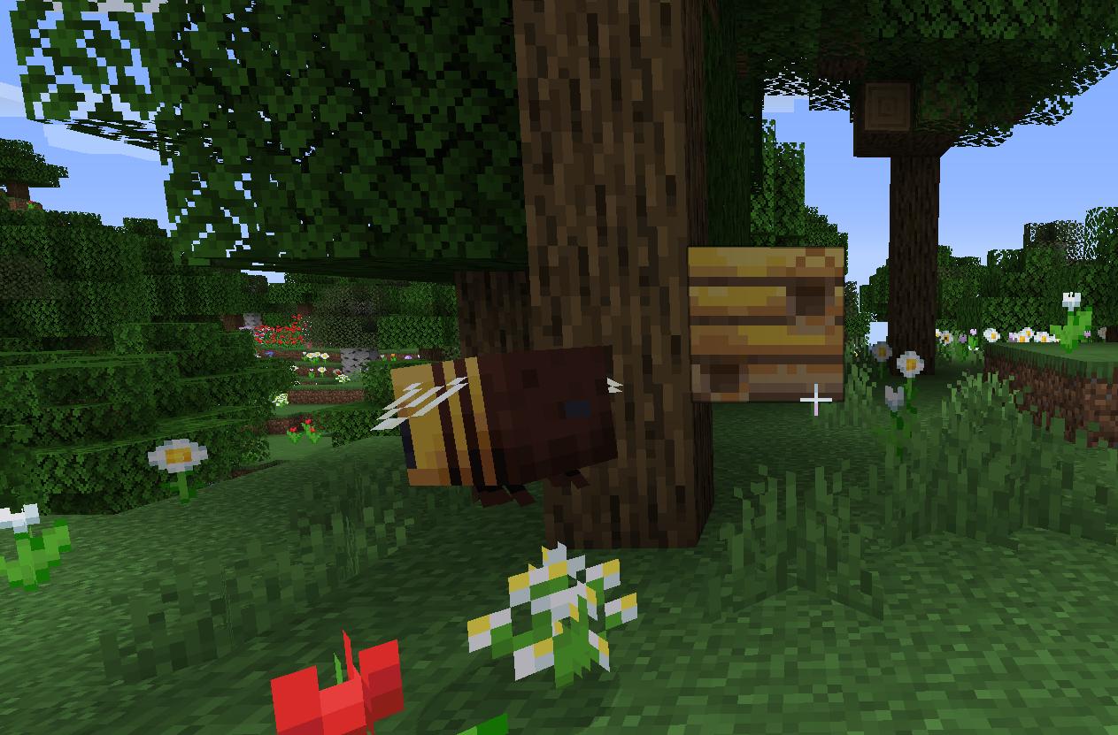 Buzy Bees Update l Abelhas chegaram no Minecraft