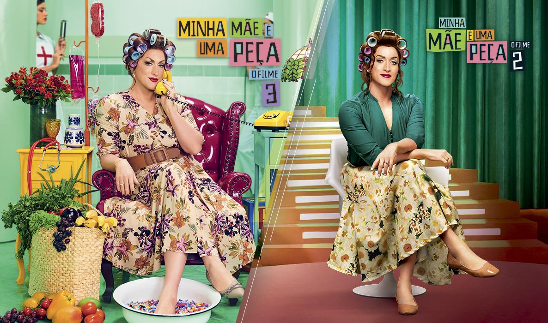 'Minha Mãe É Uma Peça 3' se torna a comédia nacional mais assistida pelo público