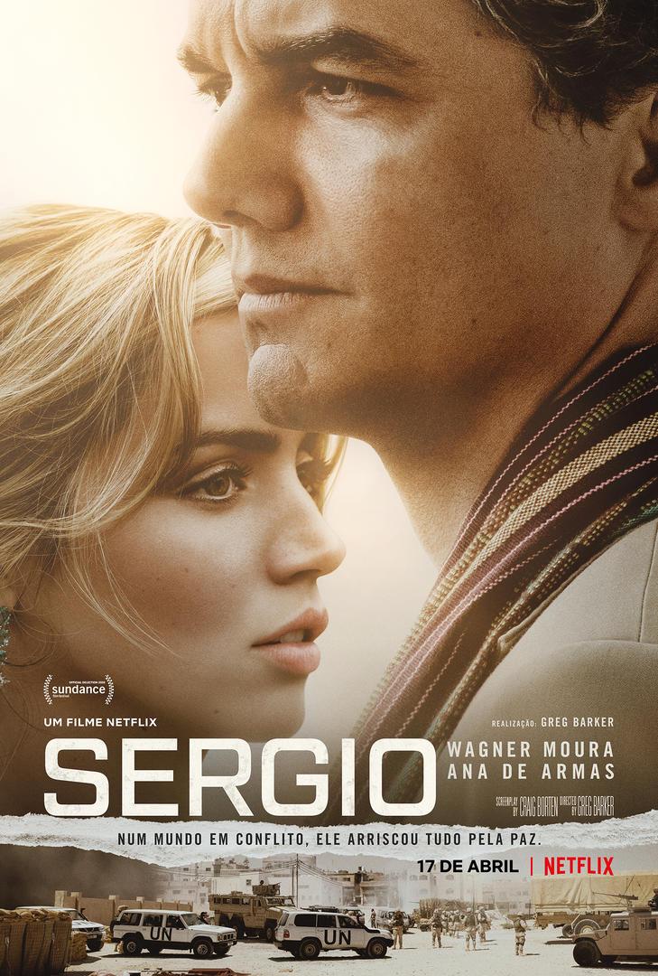 Wagner Moura e Ana de Armas em SERGIO: pôster e trailer