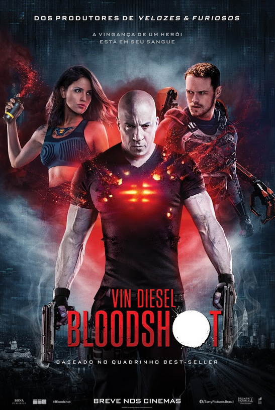 "Sony Pictures disponibiliza ""Bloodshot"" para compra digital"