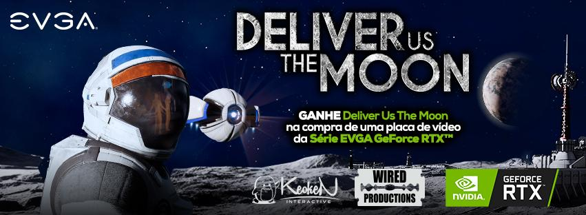 "Ganhe ""Deliver us the Moon"" de graça ao comprar as placas de vídeo EVGA GeForce RTX"
