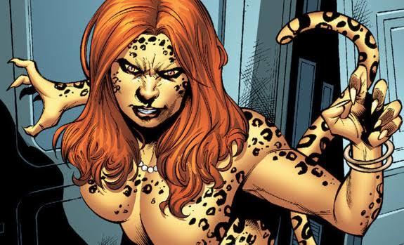 Vazamento do visual da Mulher Leopardo em MM84